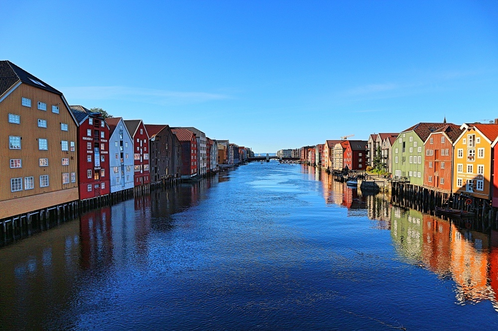 Trondheim in Norwegen