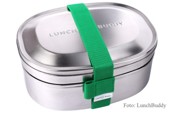 LunchBuddy 3-in-1 Edelstahl Lunchbox