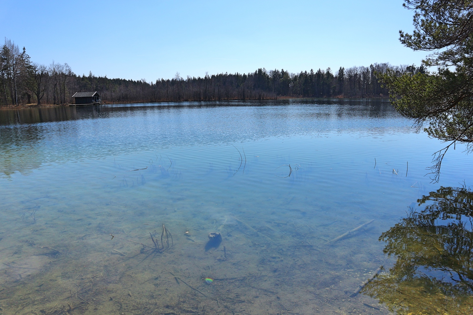 Fohnsee in Bayern