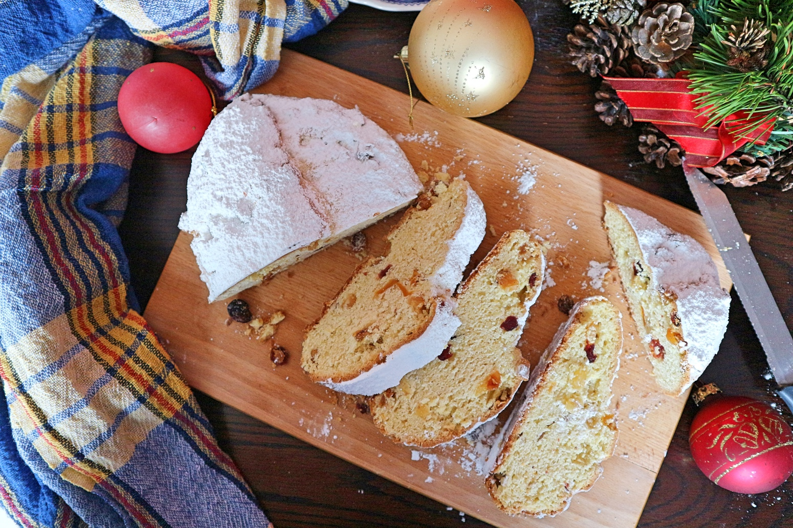 Quarkstollen selber backen