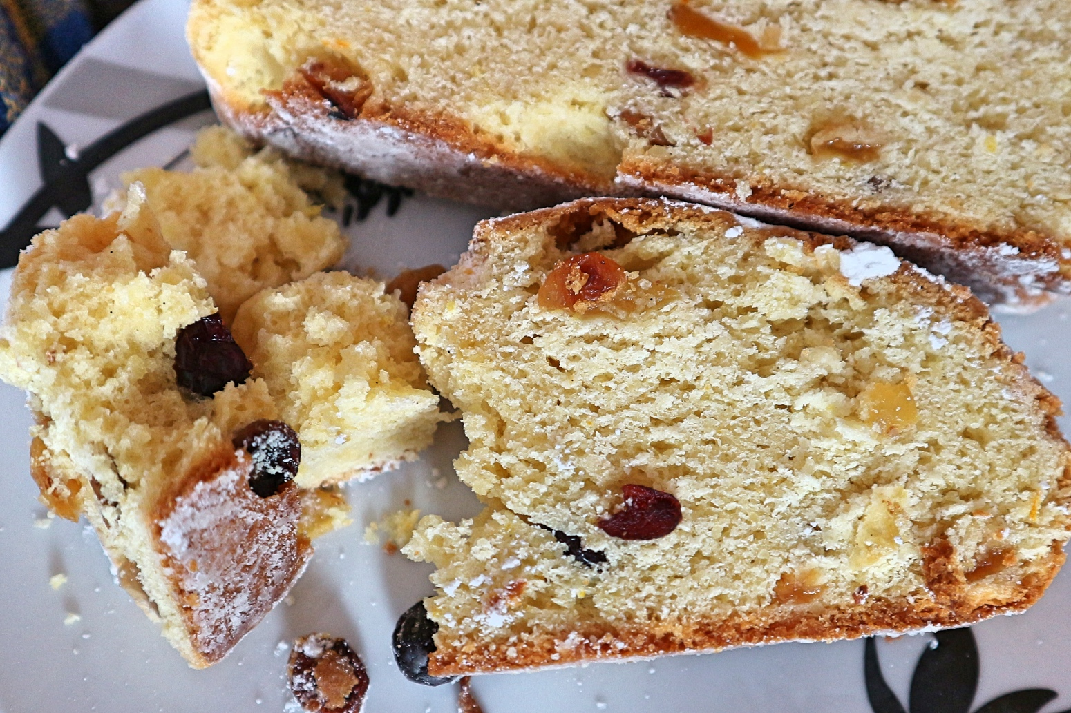 Christstollen mit Quark