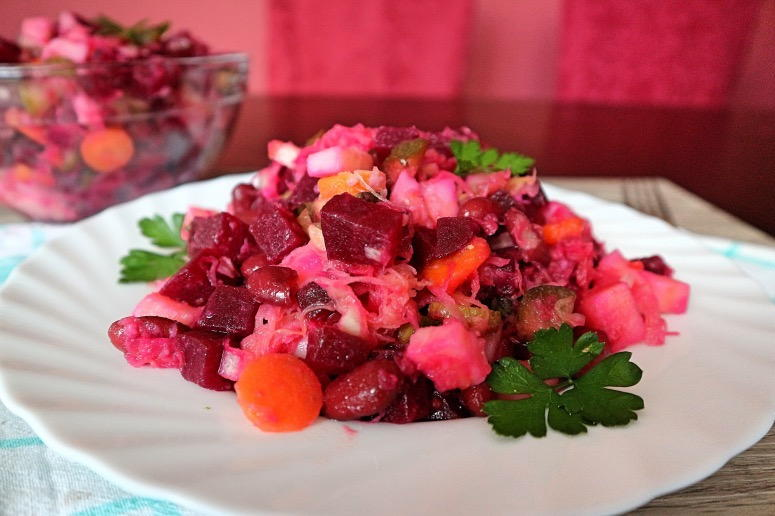 Rote-Bete-Salat russisch