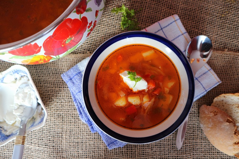 Borscht without beets