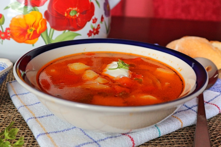 Russian borscht without beets