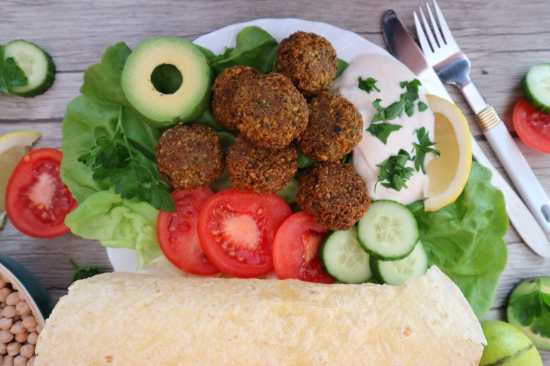 Make falafel by yourself