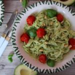 Avocado pasta – quick recipe for vegan noodles with avocado