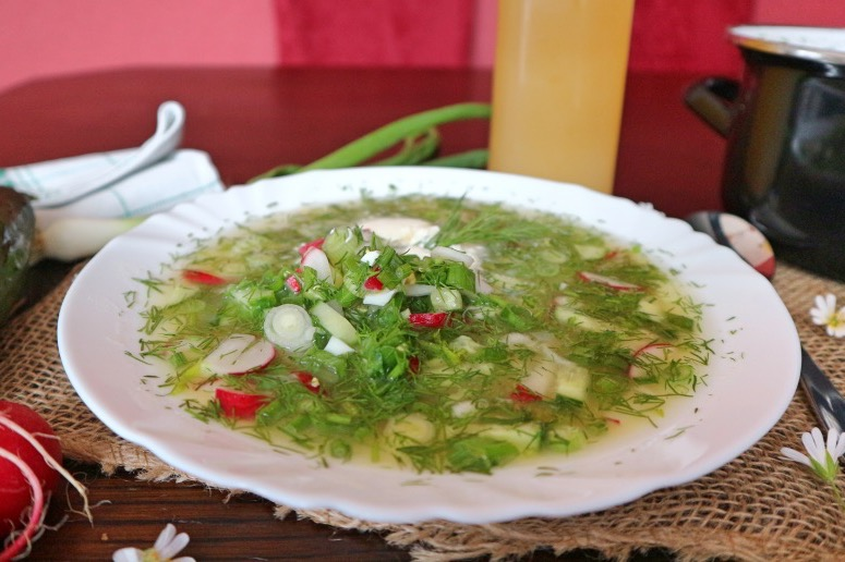 Russian cold soup