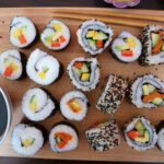 How to make sushi at home: vegan recipe for maki, nigiri and inside-out rolls