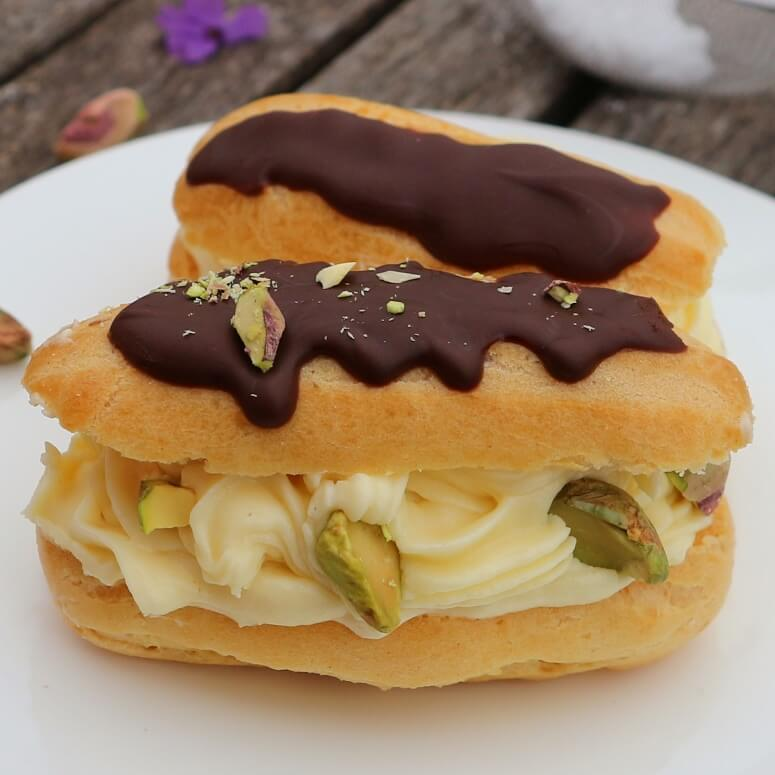French choux pastry recipe
